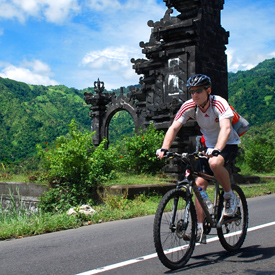 Bali bike tour photo