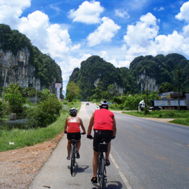 bike touring in Thailand